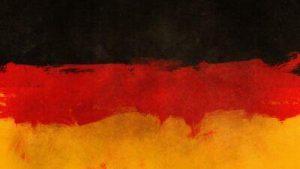 Deutschland-Flagge farbig